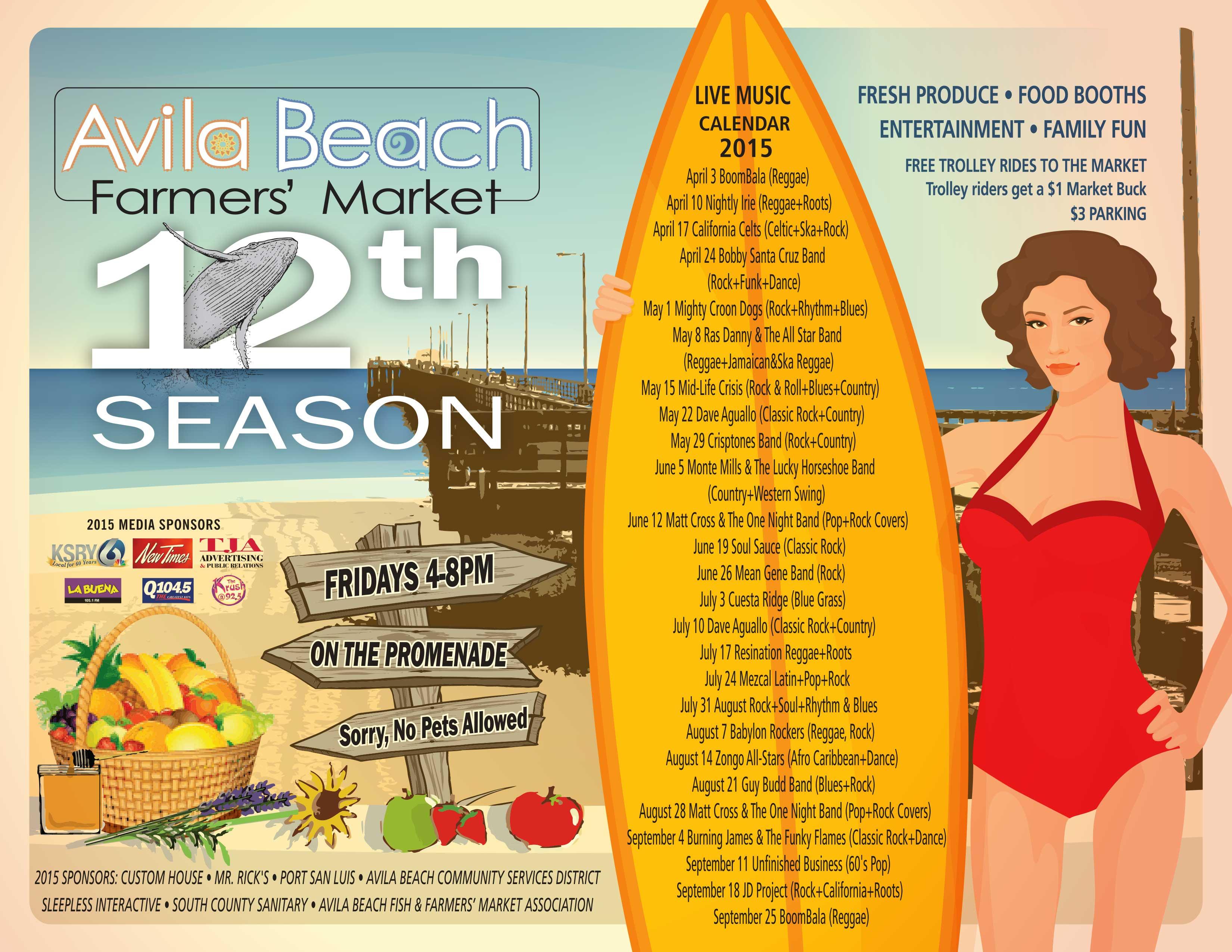 Avila Beach Farmers Market Trolley Avila Beach Farmers Market
