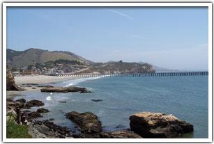 View From The Rocks Around Avila Beach
