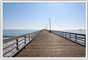 Walk Down Avila Pier