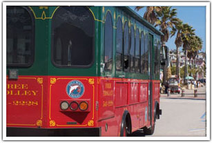 Avila Beach Free Trolley | Avila Beach California