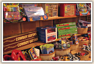 Toys at the Avila Valley Barn