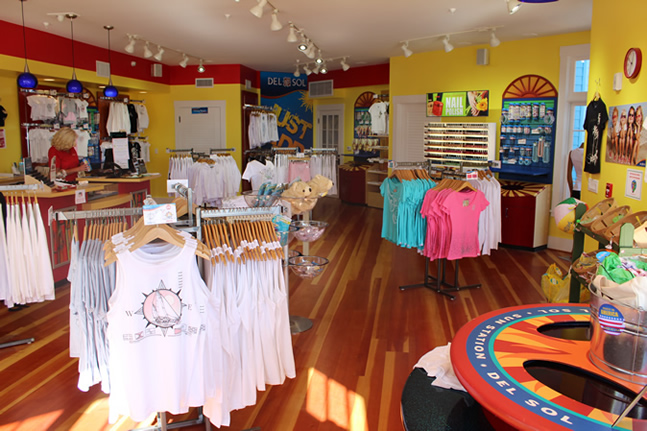 Inside of the the Del Sol Store