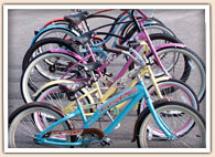 Beach Cruiser Bike Rentals