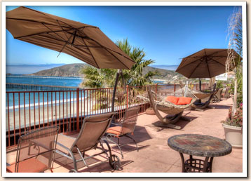 Roof Top Patio On The Inn At Avila Beach