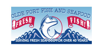 Olde Port Fish and Seafood Logo