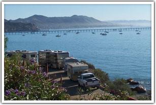 Ocean Camping In Port San Luis