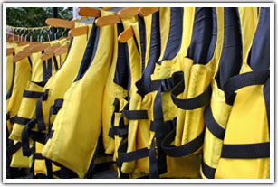Rental lifejackets