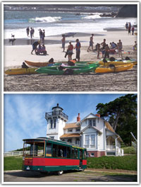 Kayaking and the Point San Luis Lighthouse