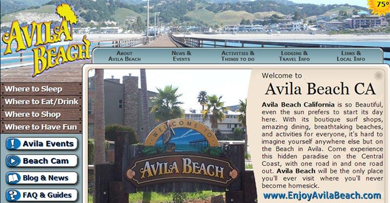 Artists And Photographers In Avila Beach California